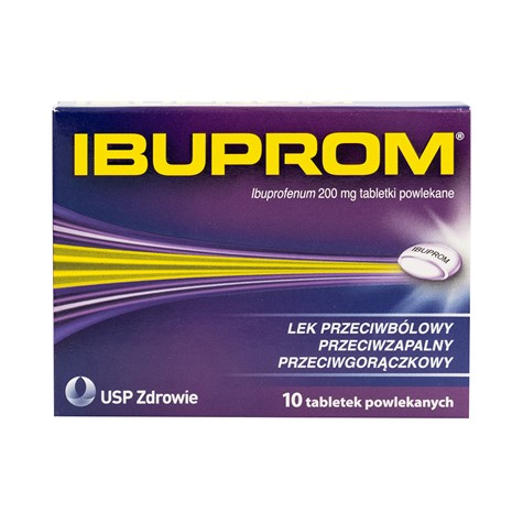 Ibuprom 10 tabletek