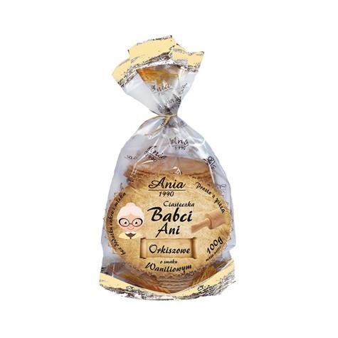 Ciasteczka orkiszowe naturalne 100 g