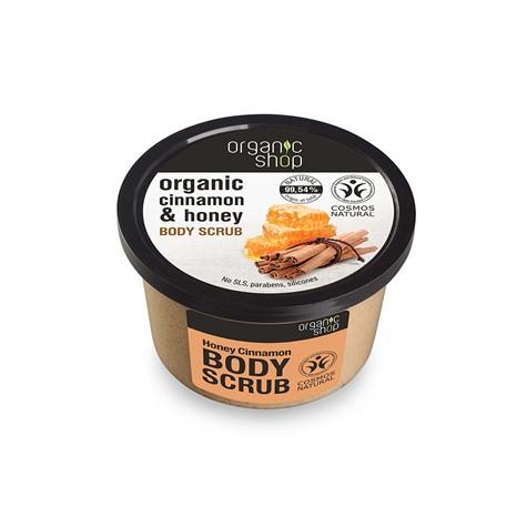 Peeling do ciała kojący Miód i Cynamon 250 ml