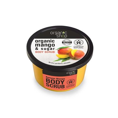 Peeling do ciała regenerujący Mango z Kenii 250 ml