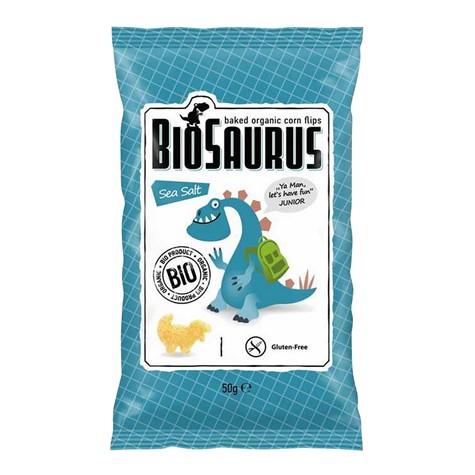 Chrupki bezglutenowe sól morska BIO 50 g