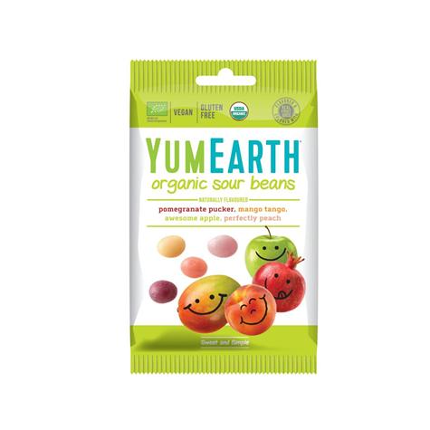 Żelki owocowe kwaśne z wit. C BIO 50 g