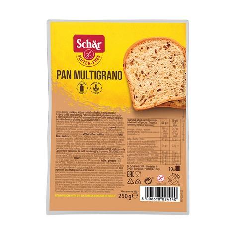 Chleb wieloziarnisty Pan Multigrano bezglutenowy 250 g