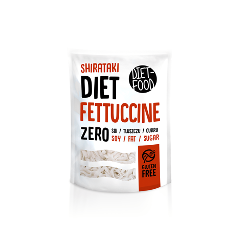 Makaron z rośliny konjac Fettuccine 200 g