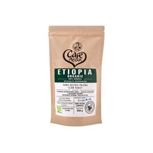 Kawa ziarnista ręcznie palona 100% Arabica Etiopia BIO 250 g