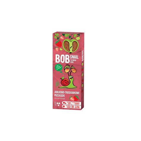 Przekąska jabłko-truskawkowa z owoców bez dodatku cukru 30 g