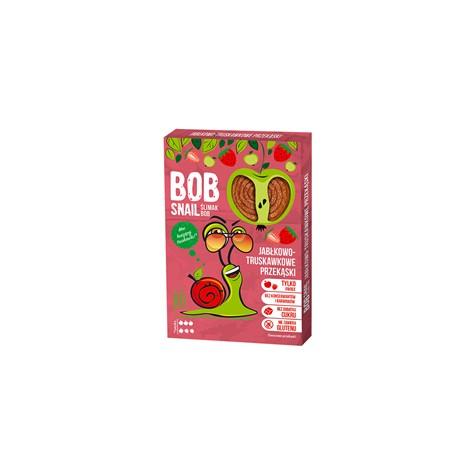 Przekąska jabłko-truskawkowa z owoców bez dodatku cukru 60 g