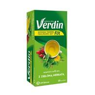Verdin Fix z zieloną herbatą 20 saszetek