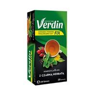 Verdin Fix z czarną herbatą 20 saszetek