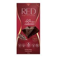 Czekolada RED ciemna  bez cukru 60% Cocoa Extra Dark 100 g