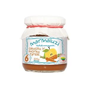Puree z jabłek i marchwi 125 g