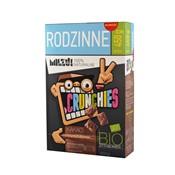 Płatki Crunchies żytnio-owsiane kakaowe BIO 450 g