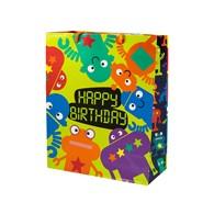 Torebka ozdobna prezentowa Happy Birthday