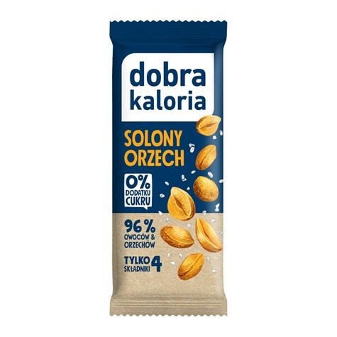 Baton solony owoc orzecha 35 g