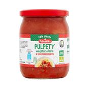 Pulpety wegetariańskie w sosie pomidorowym 2 porcje 420 g