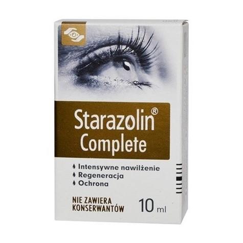 Starazolin Complete nawilżające krople do oczu 10 ml