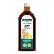 Sok z kłącza imbiru i cytryny 500 ml