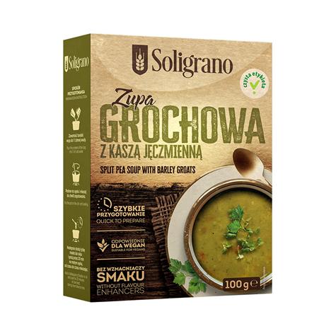 Zupa Grochowa z kaszą jeczmienną 100 g
