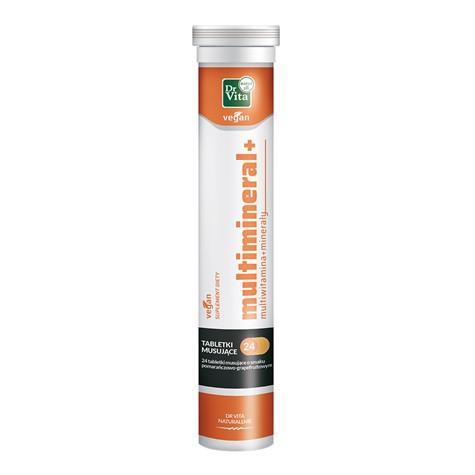 Multiwitamin + minerały 96 g 24 tabletki musujące